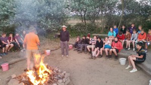Scouts Campfire.