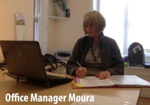 Office Manager Moura at Crowborough Computers
