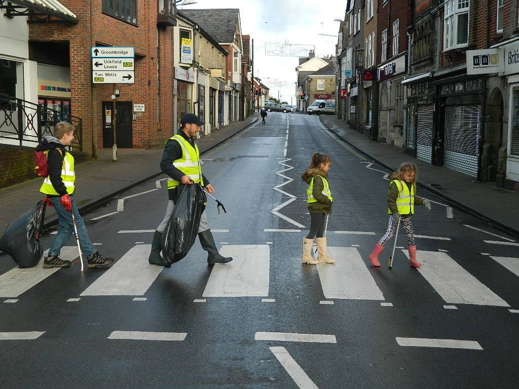 Keeping Crowborough Tidy: Brighter Crowborough