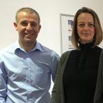Martin & Sandie Bodle from JK Comms Ltd