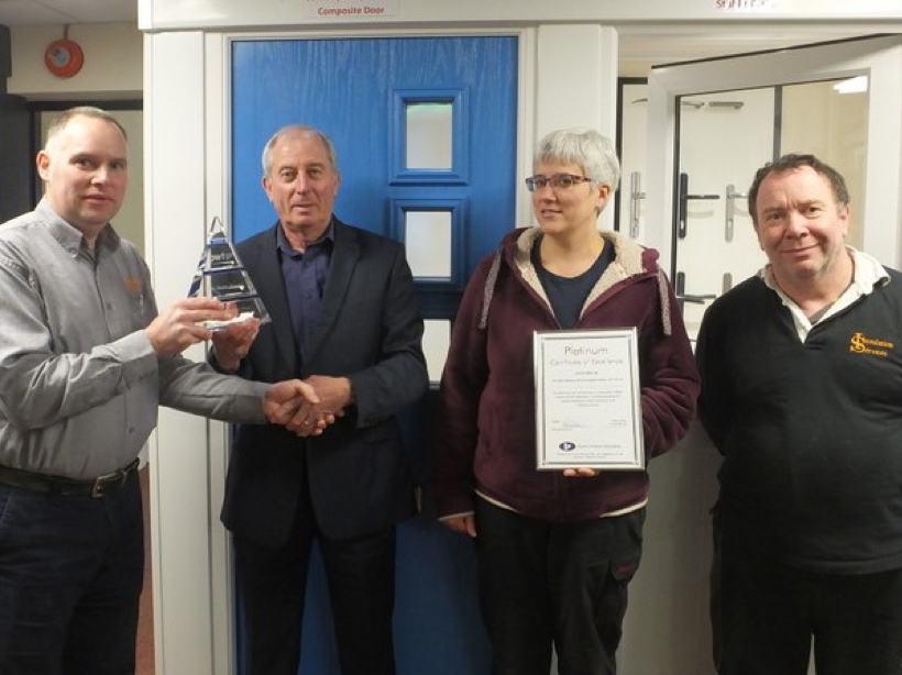 Local Company Awarded 25 Years 'Certificate of Excellence'
