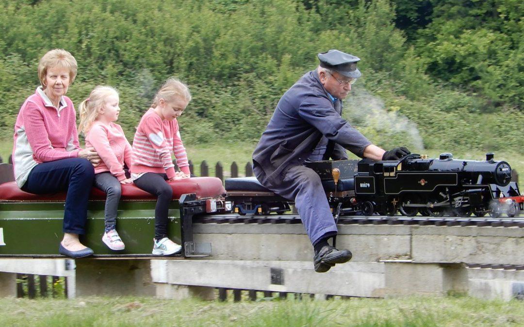 Crowborough Miniature Railway Easter Opening 2020