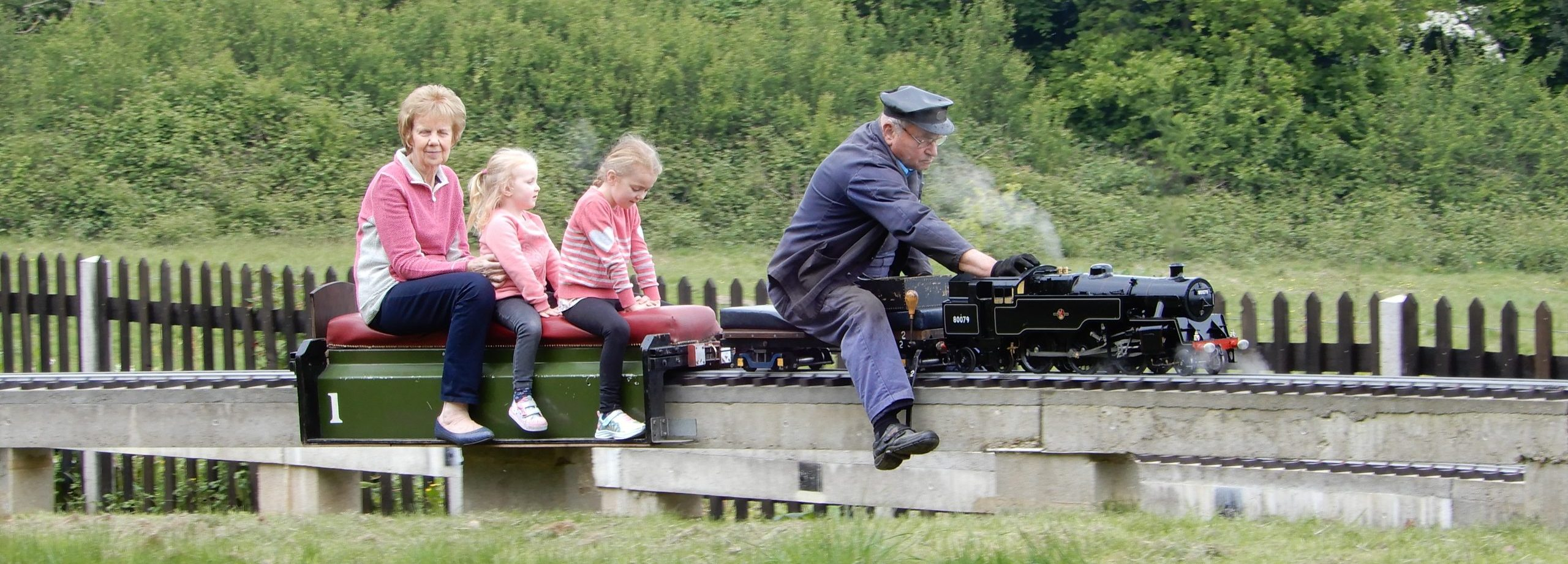 Crowborough Miniature Railway Easter Opening 2020